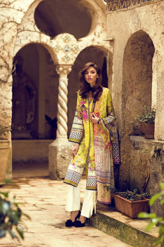 2017 Sapphire Summer Lawn collection Images