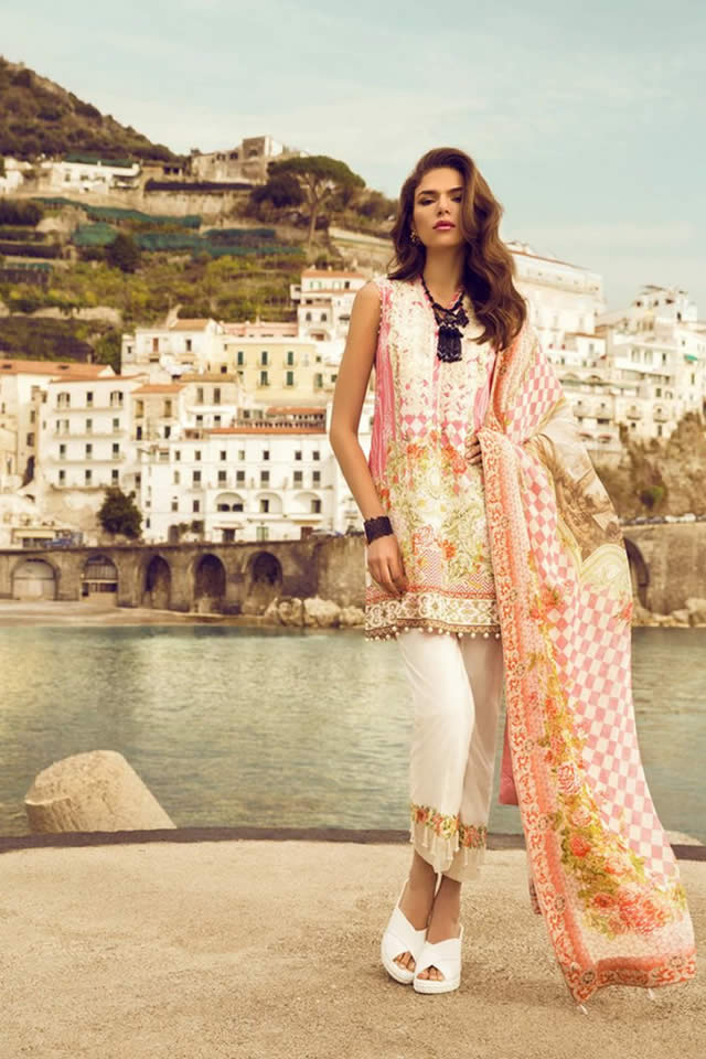 Sapphire Summer Lawn collection 2017 Images