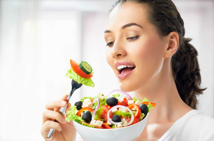TAKE GOOD CARE AND A GOOD DIET FOR HEALTHY HAIR