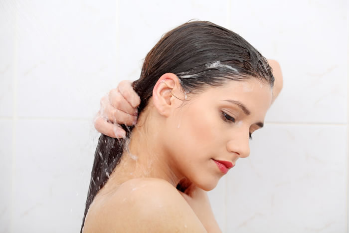 Start with a rinse Hair
