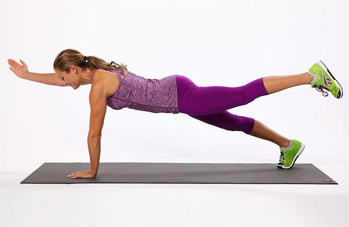 women Planks Workout Photos