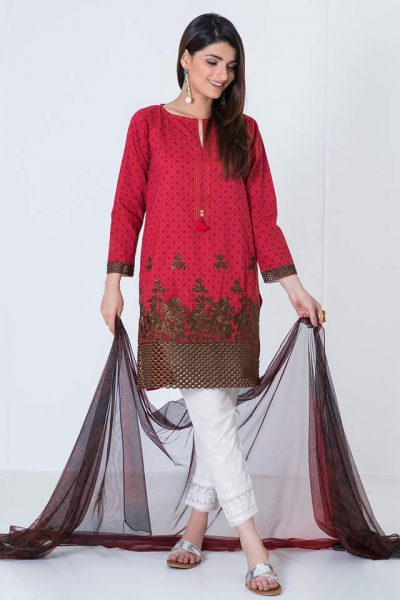 Fashion Brand Khaadi Latest Kurta collection 2017 Gallery