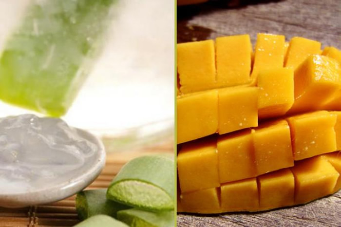 Mango With Aloe Vera Gel Hair Pack