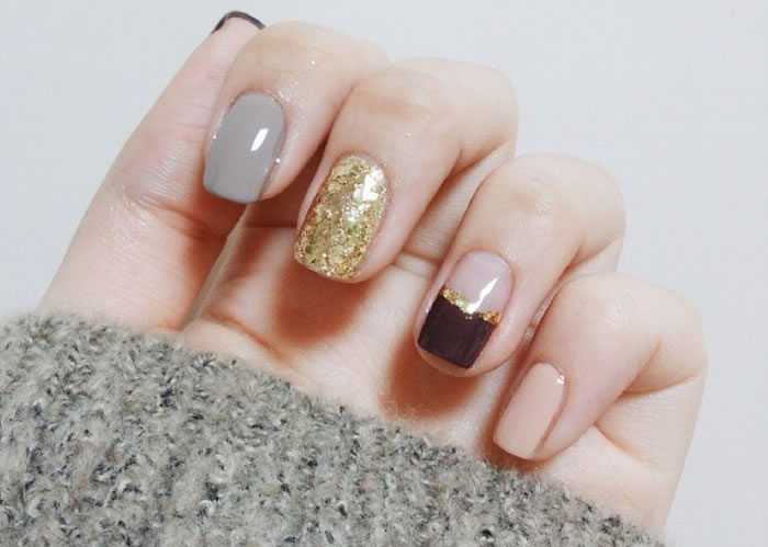Mixed and Matched Nails