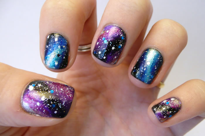 Starry-Eyed Nails
