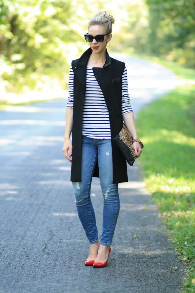 Sleeveless Work Outfit Ideas