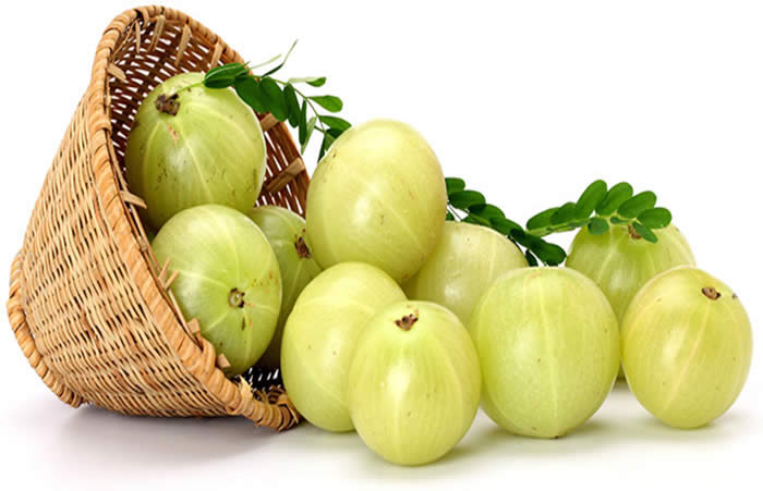Amla Water or Paste for naturally conditioned hair