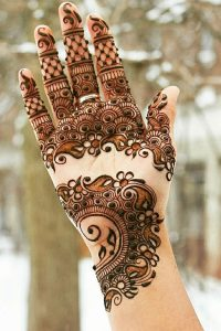 Beautiful Eid Mehndi Designs For Hands Fashion Central