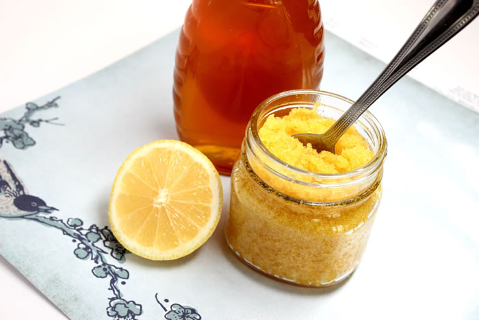 Honey to add in DIY exfoliating scrub