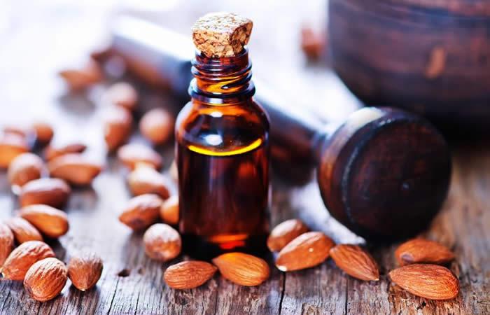 Sweet Almond Oil for voluminous and longer hair