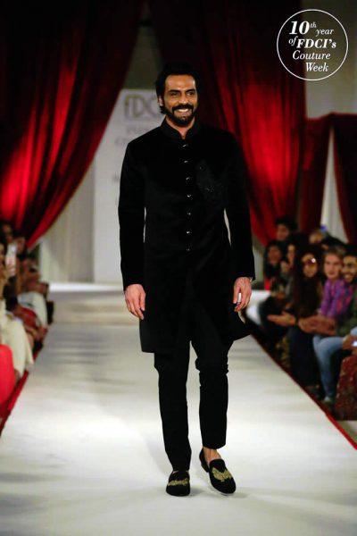 Arjun Rampal wear Rohit Bal ICW 2017