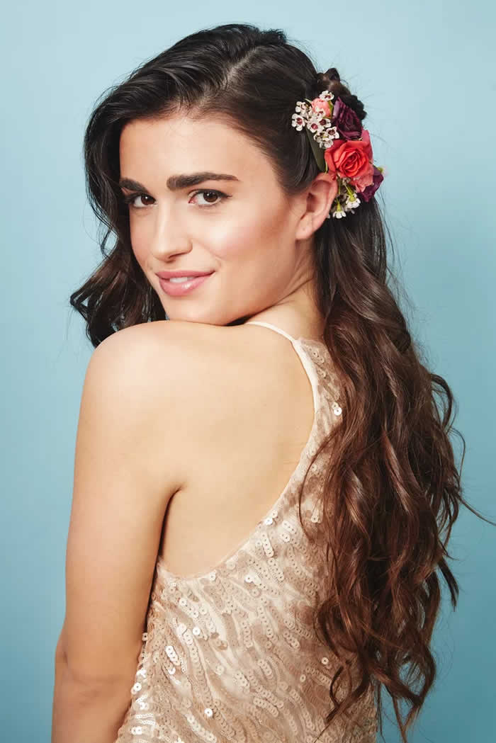 The Flower Piece: Small Fresh Floral Comb