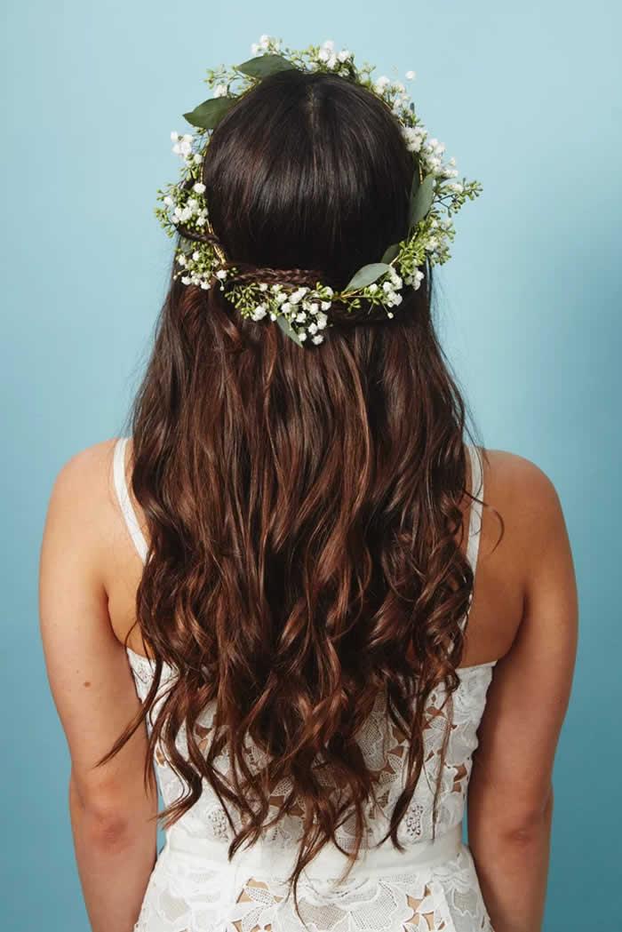The Flower Piece: Delicate Flower Crown
