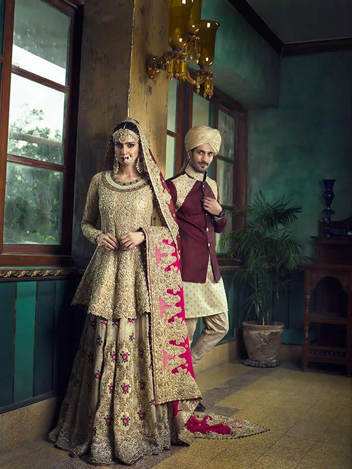 Saba Qamar's Bridal Photoshoot for Vogue India