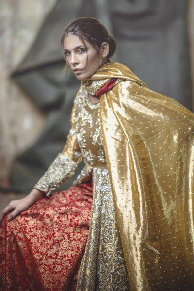 Fashion deisgner Zarmisha dresses
