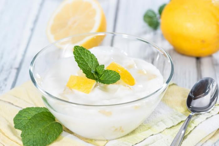 buttermilk with lemon or oranges