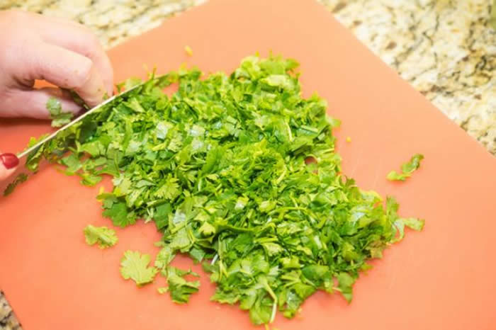 Coriander leaves and seeds