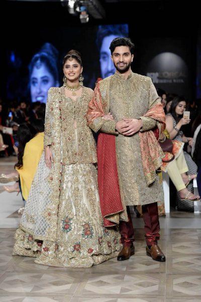 Sajal ali wearing Nickie Nina