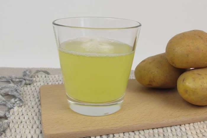 Potato or potato juice