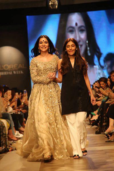Humaima Malick with Shamsha Hashwani