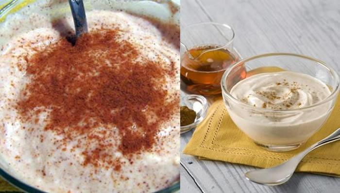 Yoghurt + cinnamon