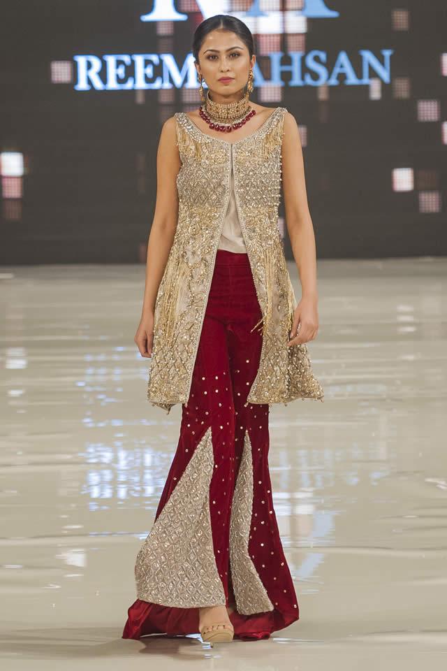 Reema Ahsan Je Suis Belle Collection At Pakistan Fashion Week London 2017