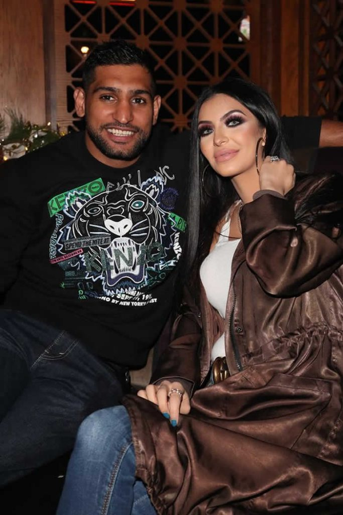 Amir Khan celebrated his birthday with his pregnant wife Faryal
