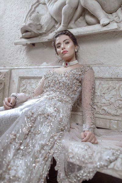 Hira Ali Winter Bridal Wear 2018