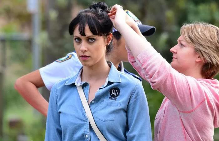 Actor Jessica Falkholt Clinging to Life Days After Horrific Crash