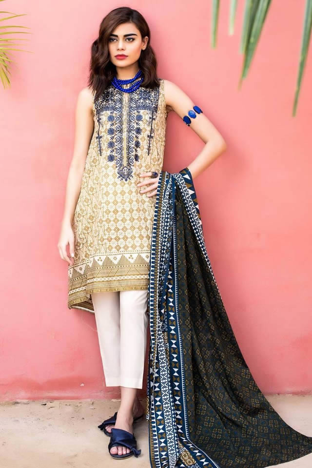 5c7b9b0af0 The unstitched 'Classic' collection is Khaadi's signature product and is  inspired by shades of spring, offering a wide range of versatile designs  and ...