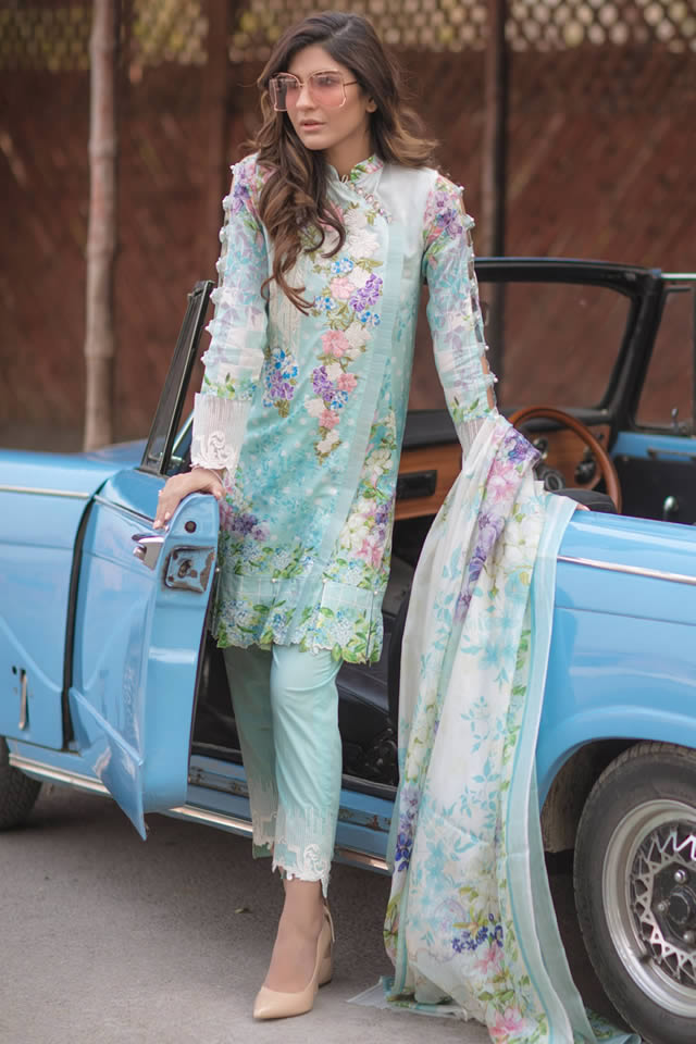 358e08e803 I hope some pictures of Firdous Fashion S/Summer Lawn New Prints 2018 as  blow.