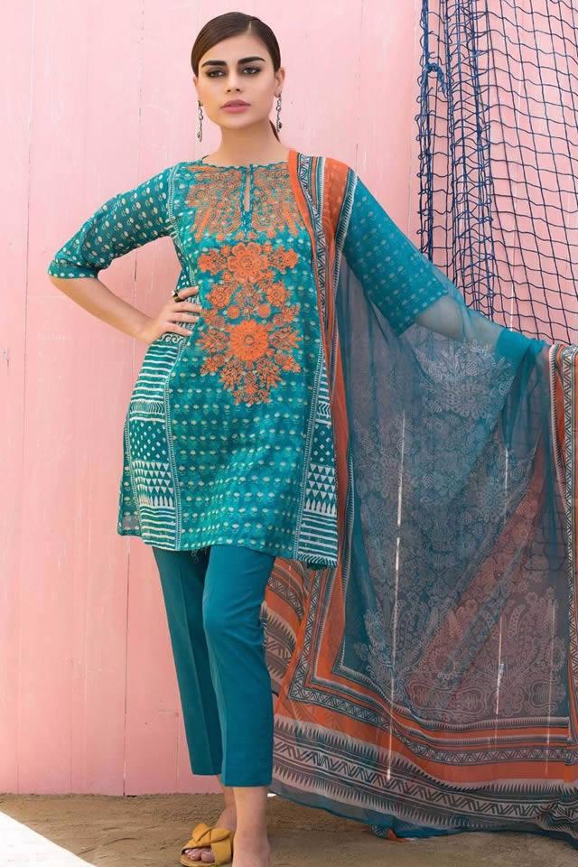 Khaadi Spring Summer Lawn Collection 2018 f6ee175eba2