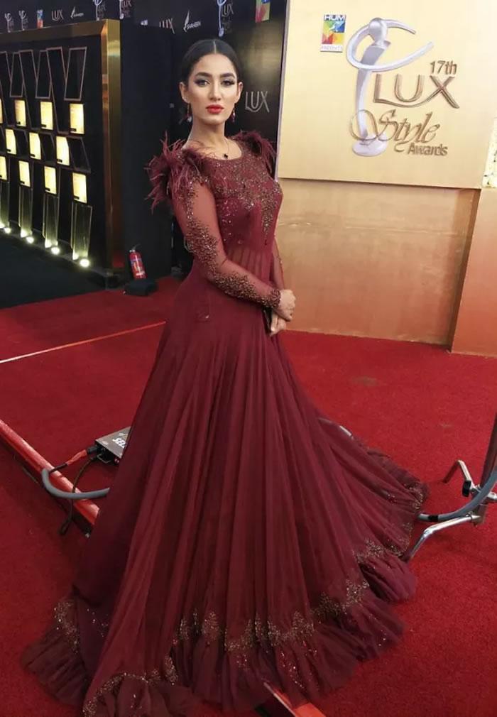 Mathira Lux Style Awards