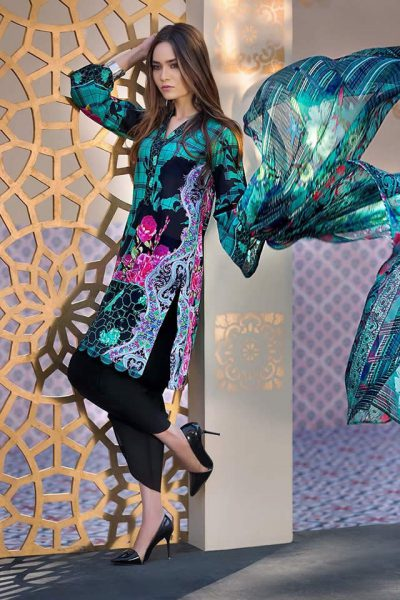 Gul Ahmed Premium Summer Lawn Collection 2018