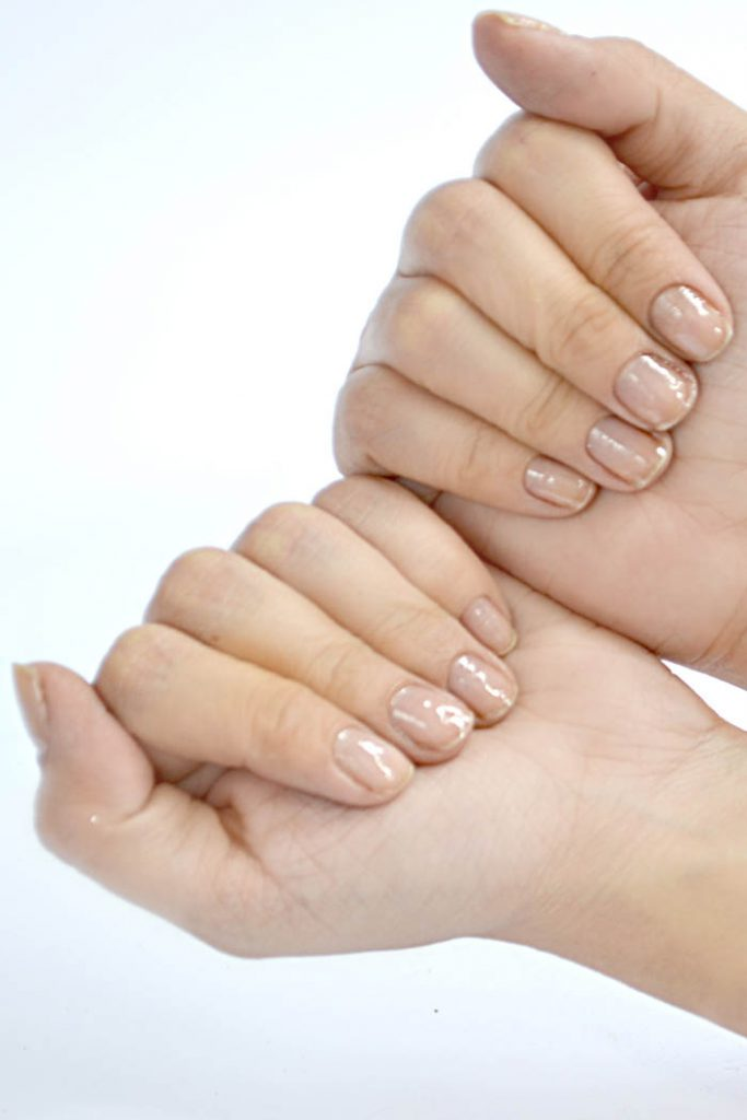 Nails Shiny and Healthy
