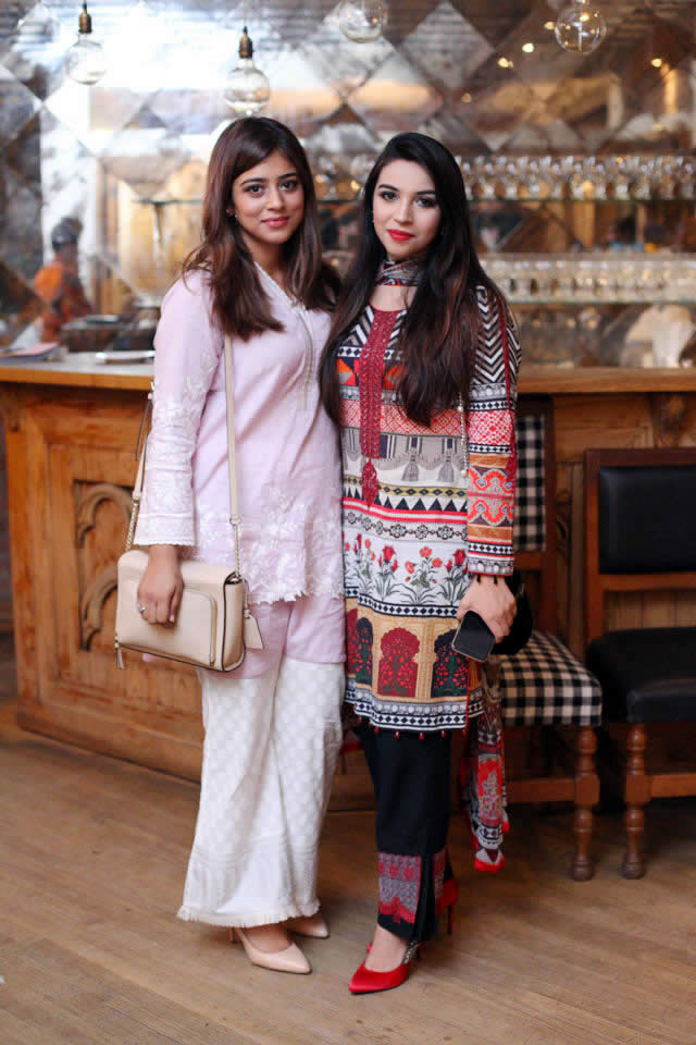 Iftar Meet-up Hosted by Khaadi at Cosa Nostra Lahore
