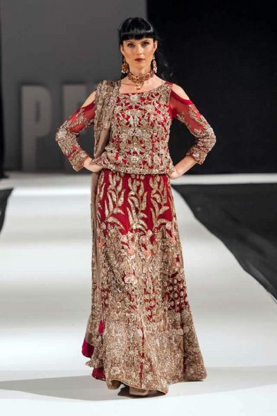 Shazia Kayani Wedding wear