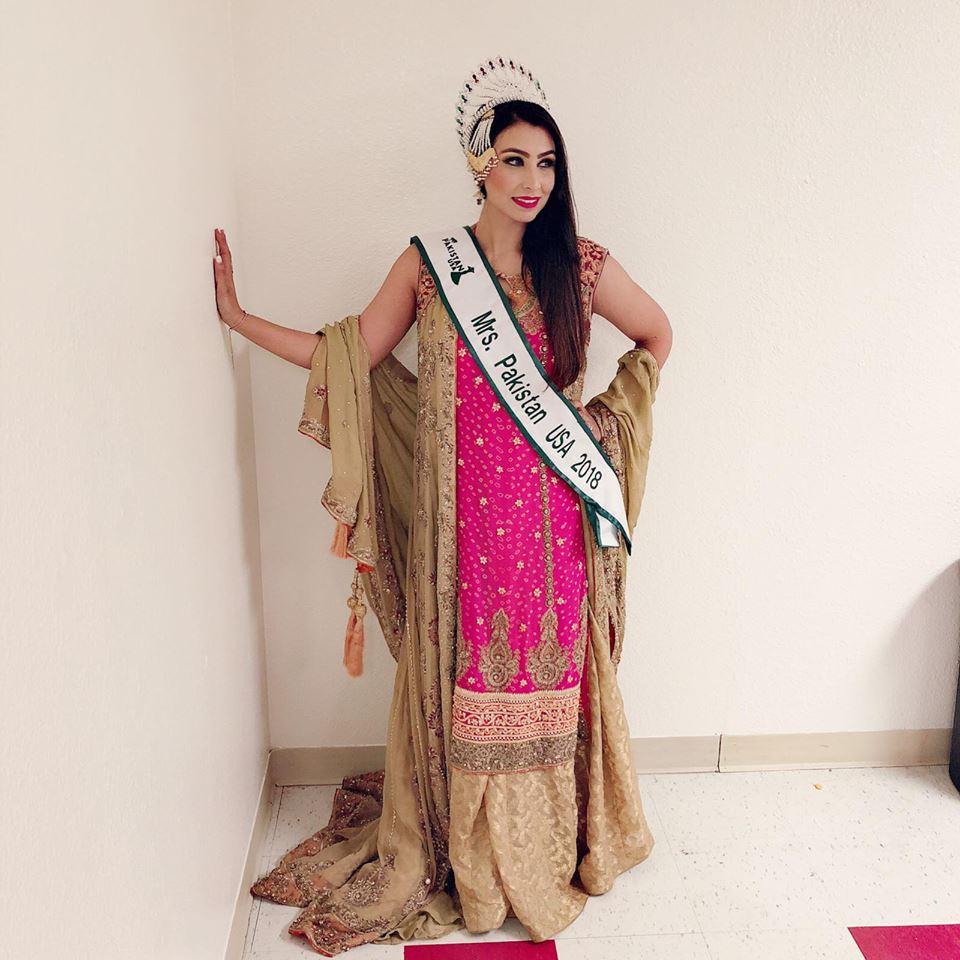 Moazzma Hunain- Mrs. Pakistan USA 2018