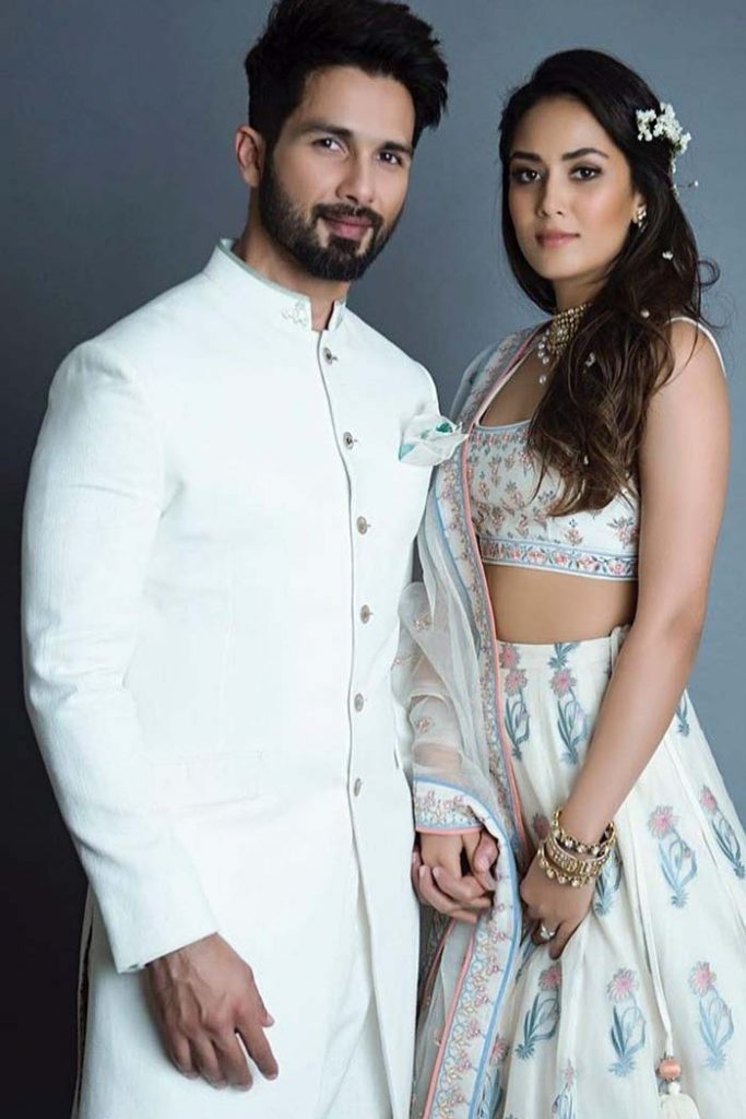Shahid Kapoor and Mira Rajput images