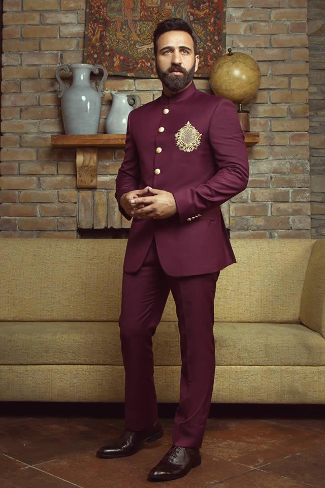 Shameel Khan Fall Winter Royal Wedding Collection 2018 19