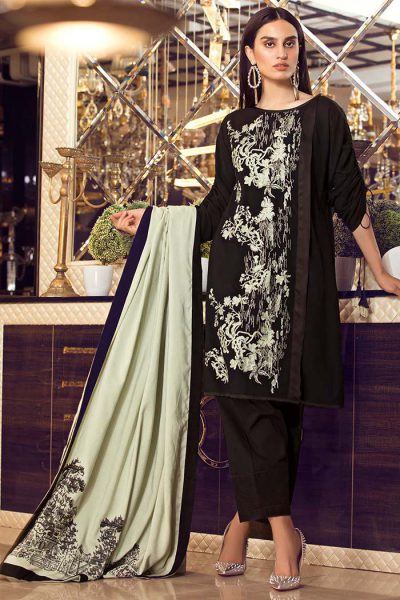 bdb1171d7f Warda 3PC Melange Embroidery New Arrival 2018, All designer brands and  brands are busy launching their new festive products. Did you go through  any of them?