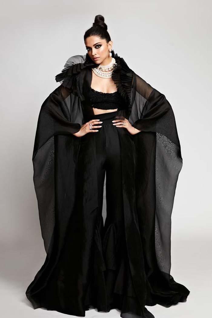 Deepika Padukone in Black