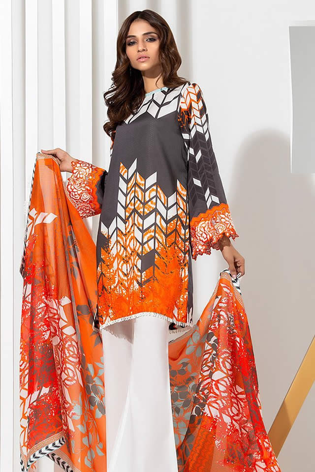 Orient Textile Latest Collection For Fall Winter 16: Orient Textile Embroidered Karandi Winter Collection 2018