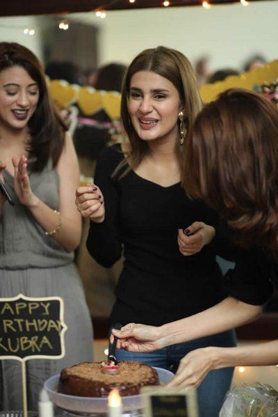 Pakistani Model, TV Actress Kubra Khan had a star-studded Birthday ...