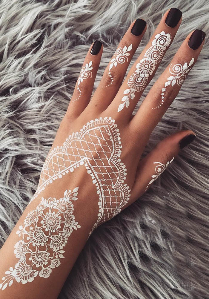 White Henna: Why White Henna Is The Fresh Trend You'll Love