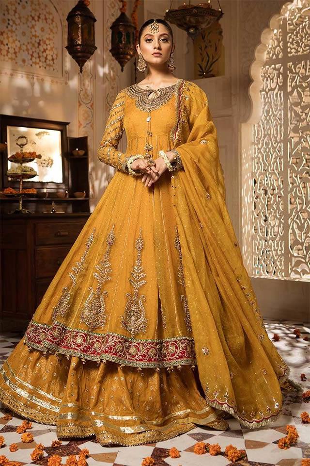 Maria B Wedding Wear Collection 2019 20 Maria B Dresses